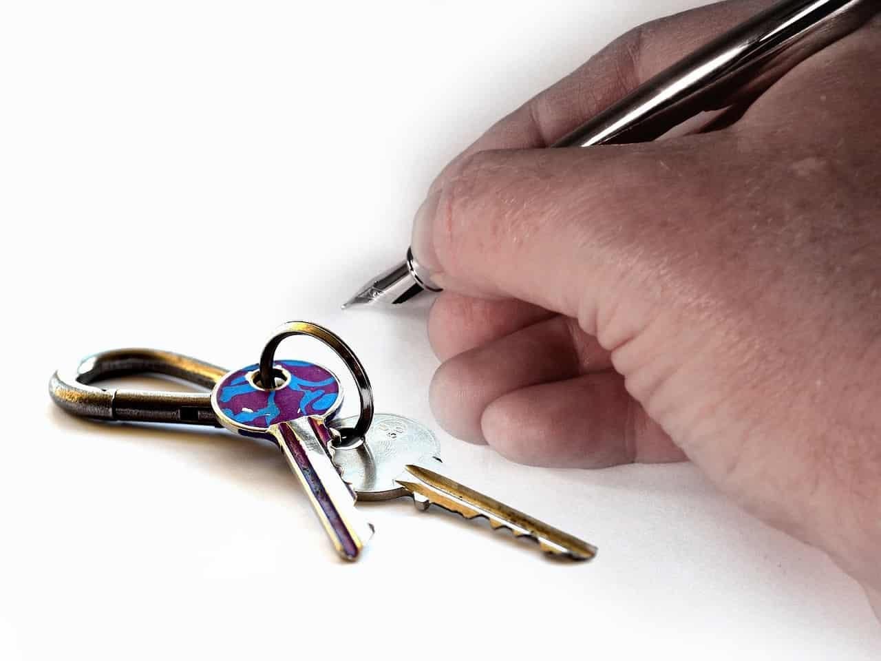 הסכם חתום ומפתחות