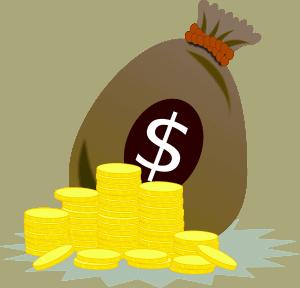מטבעות ושק כסף