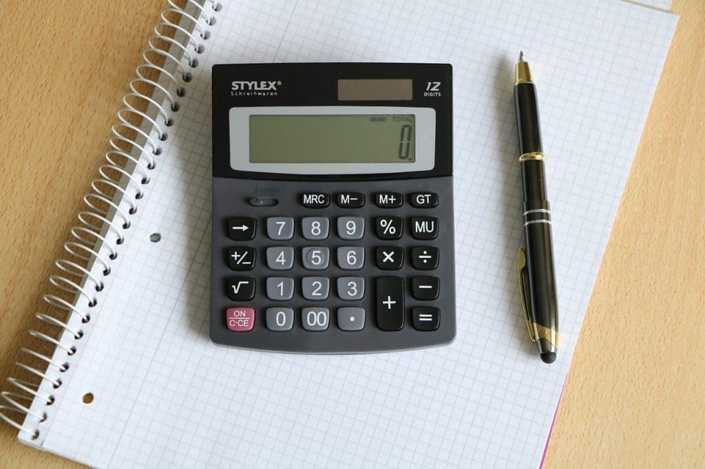 דף מחשבון ועט